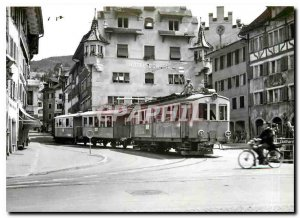 Postcard ModerneZug Kolinplatz. 1950 Photo F. Stauble