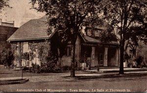 Minnesota Minneapolis Automobile Club Of Minneapolis Town House La Salle At T...