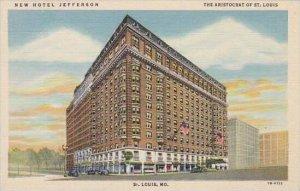 Missouri Saint Louis New Hotel Jefferson The Aristocrat Of Saint Louis