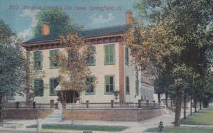 SPRINGFIELD, Illinois, 1900-1910's; Abraham Lilncoln's Old House