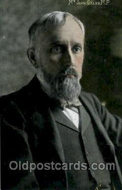 Mr. John Dillon, MP. Famous People Unused close to perfect corners
