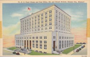 KANSAS CITY, Missouri, 1930-1940´s; U.S. Court House And Post Office, Classi...