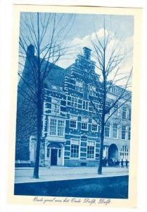 Oude Gevel Aan Het Oude Delft, Delft, (South Holland), Netherlands, 1900-1910s
