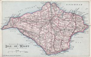 ISLE of WIGHT , UK , 00-10s ; Map # 2