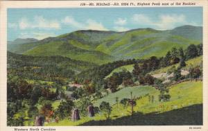 Mt. Mitchell, Highest Peak East Of Rockies, North Carolina, 1930-1940s
