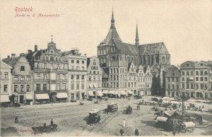 Germany Rostock Markt Marienkirche 03.51