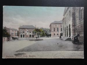 Cornwall BODMIN Mount Folly Square SHIRE HALL & WATER FOUNTAIN c1904 by Frith
