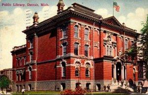 Michigan Detroit Public Library 1912