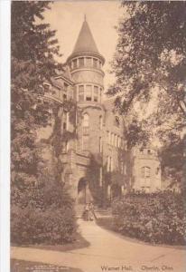 Ohio Oberlin Warner Hall Albertype