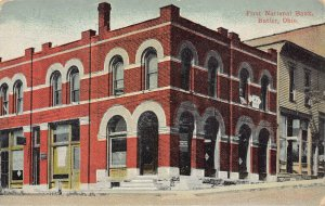 LPS84 BUTLER Ohio First National Bank Postcard
