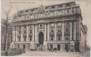 NEW CUSTOMS HOUSE ON BOWLING GREEN, LATER THE MUSEUM OF INDIAN CULTURE, NYC