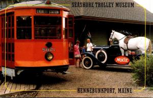 Seashore Trolley Museum Kennebunkport Maine