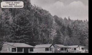 Vermont Hartland  Spot O Pines  Dexter Press Archives
