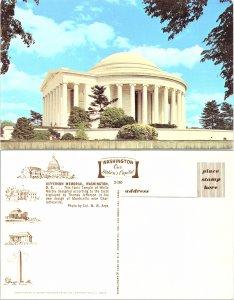 Jefferson Memorial, Washington D. C.
