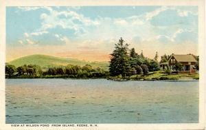 NH - Keene. View at Wilson Pond