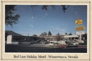 WINNEMUCCA , Nevada , 50-60s ; Red Lion Holiday Motel