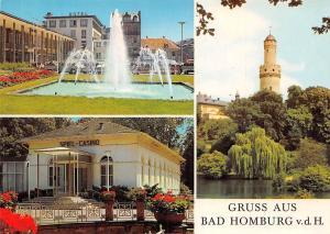 Gruss aus Bad Homburg, Spiel Casino Brunnen Fountain Tower Turm