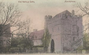 MAIDSTONE , England , 1906 ; Old College Gate