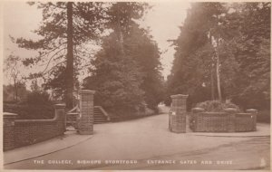 RP: Bishop's Stortford , Hertfordshire, England, 1910s ; The College ; TUCK