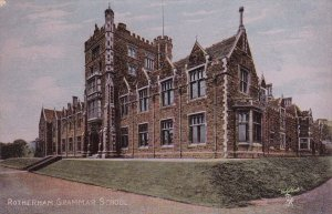ROTHERHAM, Yorkshire, England, PU-1905 ; TUCK ; Grammer School