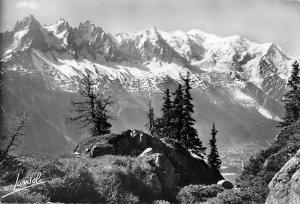 France Chamonix Mont Blanc Telepherique du Super Chamonix Panorama de la Flegere