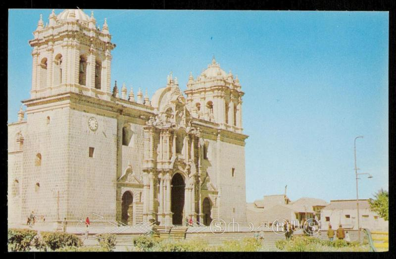 MAIN CATHEDRAL OF CUZCO (PERU)