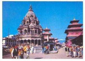 Patan Durbar Square (Kathmandu), Nepal, 60-70s
