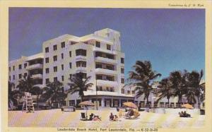 Florida Fort Lauderdale The Lauderdale Beach Hotel 1948 Dexter Press