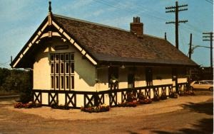 NJ - Lebanon. Old Railroad Station