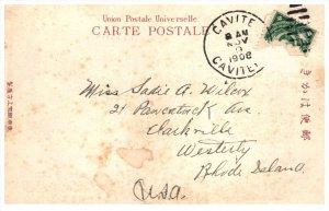 21939 Cavite Phillipines Cancel 1908