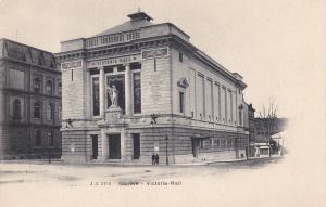 Victoria-Hall, GENEVE, Switzerland, 1902