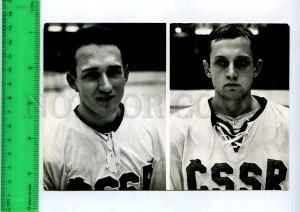 255110 Czechoslovakia ICE hockey Jan Klapac Vaclav Nedomansky