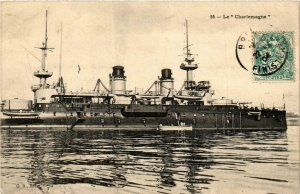 CPA AK Le Charlemagne SHIPS (782340)