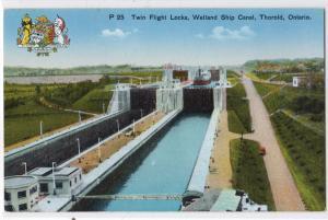Twin Flight Locks, Welland Ship Canal, Thorold Ont