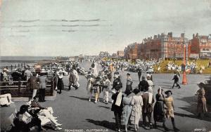 Cliftonville Margate Promenade Animated Walk, Elegant Fancy Clothing 1923