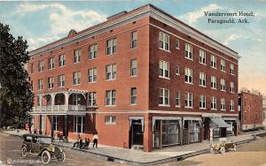 D73/ Paragould Arkansas AR Postcard c1910 Vandervoort Hotel Building