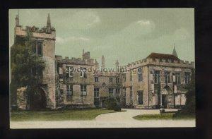 TQ3461 - Wiltshire - Bishop's Palace built in 1220, in Salisbury - postcard