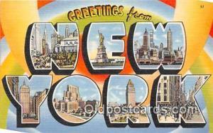 New York, USA Postcard Post Cards New York, USA