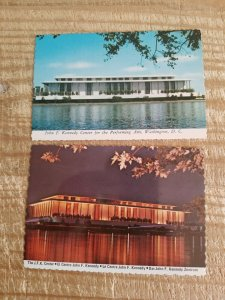JOHN F KENNEDY CENTER FOR THE PERFORMING ARTS DAY AND NIGHT.SET OF POSTCARDS*P13