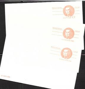 US Pre-stamped Postcard UX92 UX 93 Robert Morris