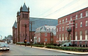 New Hampshire Nashua St Patrick's Rectory Parish School and Church