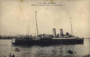 Le Havre Steam Boat Steamer Ship Ships Postcard Postcards Unused