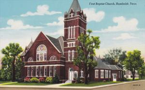 Baptist Church , HUMBOLDT , Tennessee , 30-40s