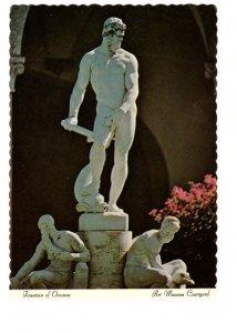 Sculpture Fountain of Oceanus, Ringing Museum of Art, Sarasota, Florida