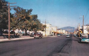 OLIVER , B.C. , Canada , 50-60s; Main Street, Classic Cars