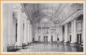 Washington D.C.-Pan American Union Building, Hall of the Americas