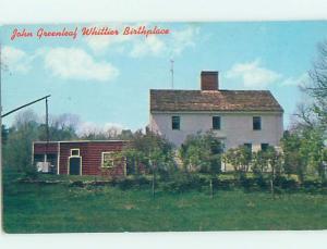Unused Pre-1980 HISTORIC HOME Haverhill Massachusetts MA W3574
