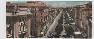 Italy Marche Ancona Viale Della Vittoria 1958 Large Postcard