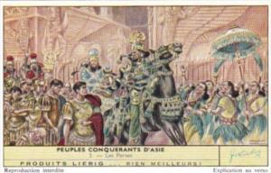 Liebig S1734 Conquering Nations Of Asia No 3 Les Perses