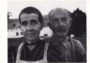 French Canadian Farmers In WW2 Wartime Farm in France Award Photo Postcard